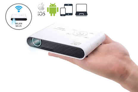 Personal Projector - Aiptek PocketCinema wireless HD pocket projector - Save 42%