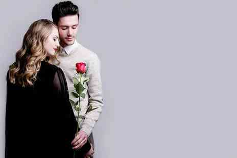 The Factory Covent Garden - Couples photoshoot including full hair and makeup styling, bubbly and one print - Save 98%