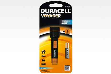 Groupon Goods Global GmbH - Duracell Voyager LED Torch Flashlight - Save 77%