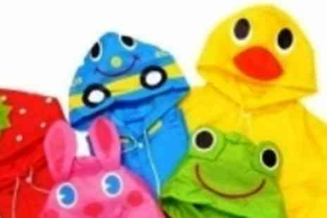 Silicone 17 - Adorable kids animal ponchos is various designs - Save 50%