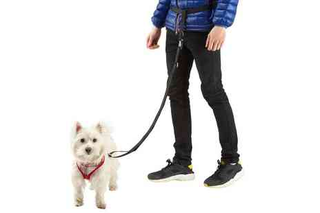 Groupon Goods Global GmbH - Bunty Adjustable Hands free Dog Waist Belt Lead - Save 57%