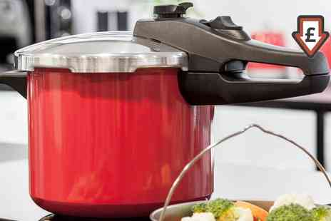 Groupon Goods Global GmbH - Morphy Richards 5L Pressure Cooker - Save 78%
