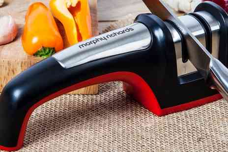 Groupon Goods Global GmbH - Morphy Richards Equip Knife Sharpener - Save 56%