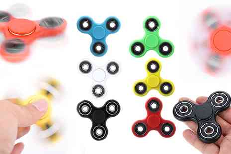 Groupon Goods Global GmbH - Fiddlerz Finger Fidget Spinners - Save 80%