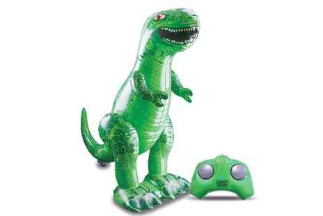 Groupon Goods Global GmbH - Inflatable T Rex - Save 63%
