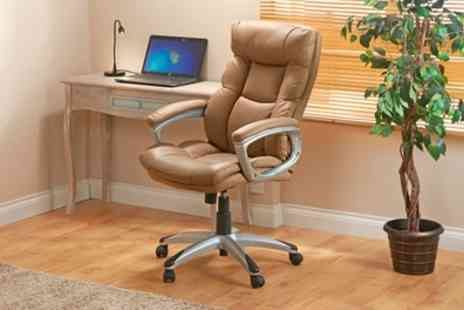 Groupon Goods Global GmbH - Executive Style Office Chair - Save 50%