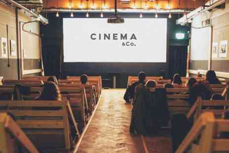 Cinema & Co - Movie of Choice with Popcorn for One, Two or Four - Save 44%