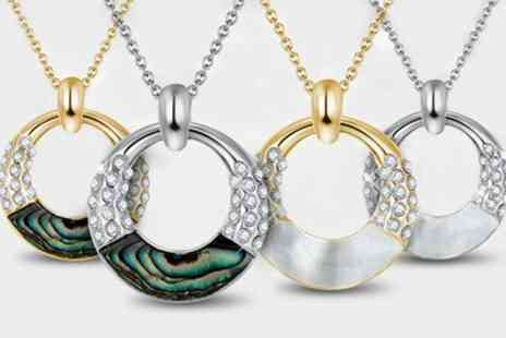 Neverland Sales - One or Two Penelope Necklaces with Crystals from Swarovski - Save 69%