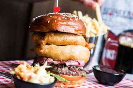 Tribeca West End - Specialty Burger and Side of Fries for Two - Save 49%
