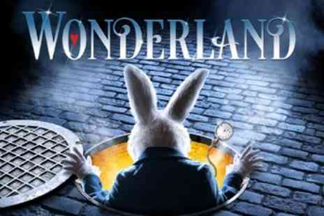 ATG Tickets - Wonderland ticket to 2 to 6 May at New Wimbledon Theatre and 8 to 13 May at Bristol Hippodrome  - Save 49%