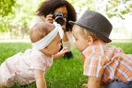 Danarus Productions - Baby or Toddler Photoshoot with Four Prints - Save 88%