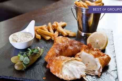 1855 Restaurant - Fish and Chips for Two or Four - Save 63%