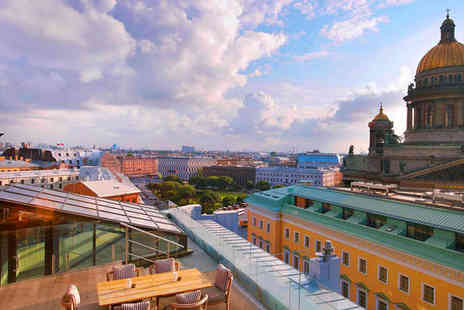 W St Petersburg - Five Star Rooftop Terrace in City Centre - Save 46%