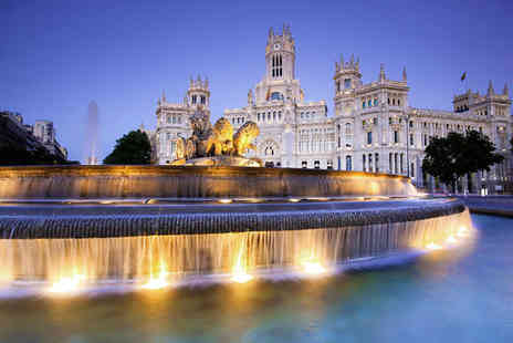 Hotel Eurostars Gran Madrid - Four Star Innovative & Elegant Hotel With Excellent Transport Links - Save 77%