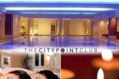 The CityPoint Club - Luxury spa day for two including full access to the spa facilities, a choice of beauty treatment, afternoon tea plus a perfume consultation - Save 63%