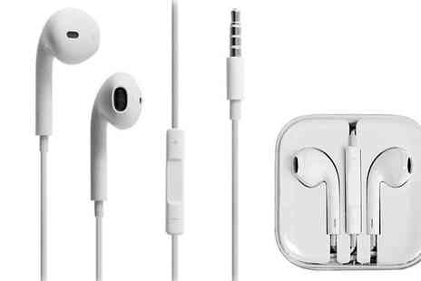 Digital Save - Official Apple EarPods with Remote and Mic - Save 76%