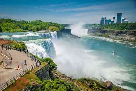 Crystal Travel - Six night New York and Niagara Falls break with flights, transfers, and optional Niagara Heli Tour - Save 39%