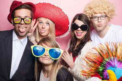 Photobooth Creative - Two hours of photo booth hire with attendant and props - Save 53%