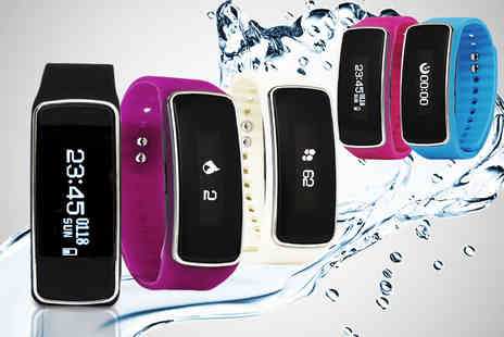Ckent - An 11 in 1 smart bluetooth activity bracelet in five colours - Save 52%