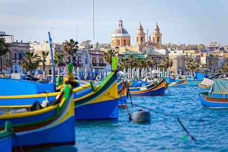 Cheap Cost Holidays - Three night Malta break with breakfast and flights - Save 44%