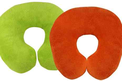 Groupon Goods Global GmbH - One or Two Travel Neck Pillows - Save 63%