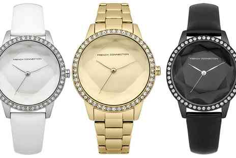 Groupon Goods Global GmbH - French Connection Womens Watches - Save 63%