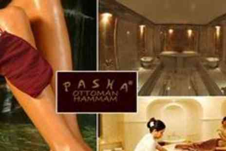 Pasha Spa - Two hour Hammam experience including use of the Turkish Bath, a full body scrub and chocolate mask - Save 62%