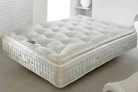 Groupon Goods Global GmbH - Signature Pillowtop Mattress With Free Delivery - Save 67%