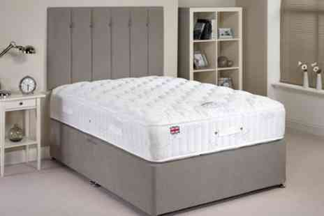 Groupon Goods Global GmbH - Ortho Luxury Divan Set With 30cm Deep Mattress - Save 57%