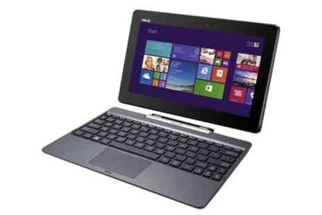 Laptop Outlet - Refurbished ASUS 10.1 Inch Transformer Book T100 2 in 1 Laptop Or Tablet 16GB or 32GB Storage - Save 0%