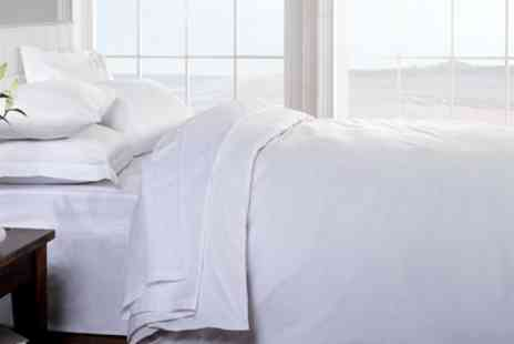 Groupon Goods Global GmbH - Hotel 400TC Egyptian Cotton Bed Linen Set - Save 50%