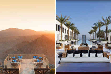 Anantara Al Jabal Al Akhdar Resort - Five Star Ultra Luxury Stay in Two Stunning Locations - Save 0%