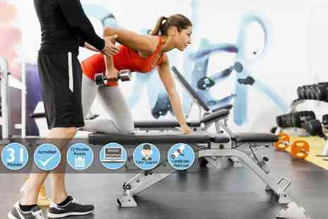 E Careers - Level three personal trainer course - Save 88%
