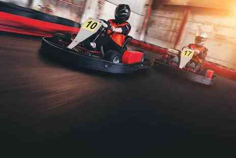 Ace Karting - 50 laps of indoor go karting - Save 50%