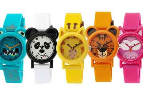 Groupon Goods Global GmbH - Tikkers Kids Animal or Monster Silicone Watch - Save 38%