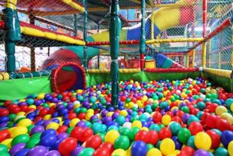 Letz Play Soft Play Centre - Soft Play Entry for Two, Three or Four Children and an Adult - Save 50%