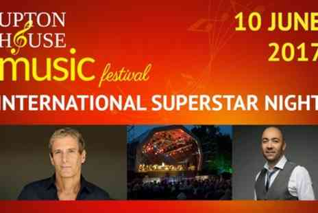 Upton House Festival - General Admission or Gold Circle Ticket to See Michael Bolton on 10 June - Save 39%