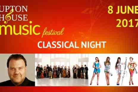 Upton House Music Festival - Upton House Music Festival Classical Night on 8 June - Save 51%
