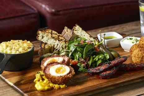 Captain Cook - Two Course Brunch with Free Flowing Prosecco for Two or Four - Save 57%