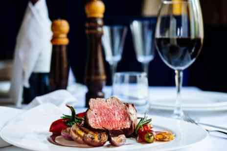 Infusions Cafe Bistro - Steak and Chips with Wine for Two or Four - Save 41%