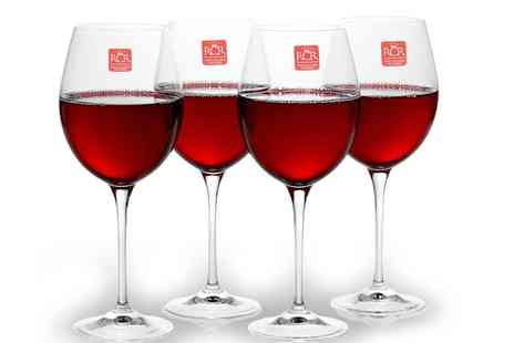 Groupon Goods Global GmbH - 6, 8 or 10 RCR Toscana 450ml Wine Glasses - Save 41%