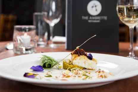 The Ambrette - Two Course Lunch with Glass of Wine or Three Course Dinner for Two or Four - Save 46%