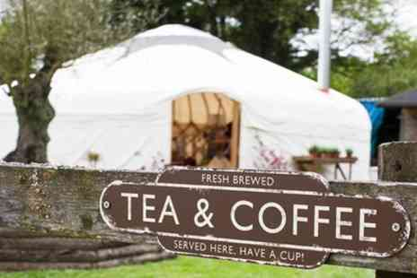 Riverside yurt cafe - Cream Tea for Two or Four - Save 0%