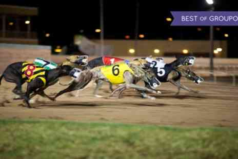 Doncaster Greyhound - Greyhound Races with a Programme, Meal and Drink for Two, Four or Six = - Save 68%