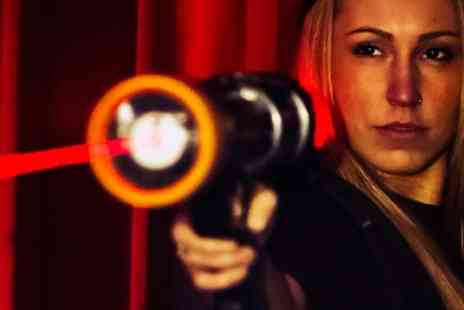 Laser Quest Stoke - Two Laser Tag Games with Drinks for Two or Four - Save 52%