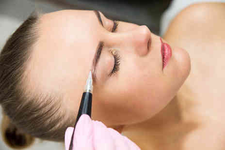 Sara Duane Permanent Makeup - Beauty mark, hair stroke eyebrows or soft fine eyeliner on upper or lower lids - Save 51%