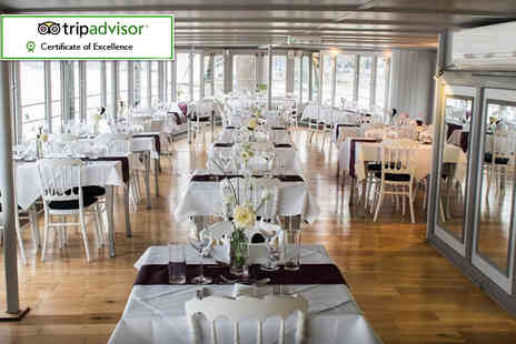 The Yacht London - Sunday lunch on the river - Save 33%