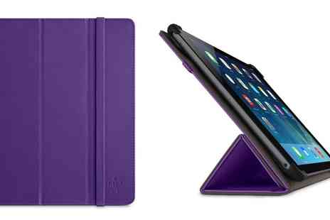 Groupon Goods Global GmbH - Belkin Colour Duo Tri Fold Cover with Stand for iPad Air - Save 67%