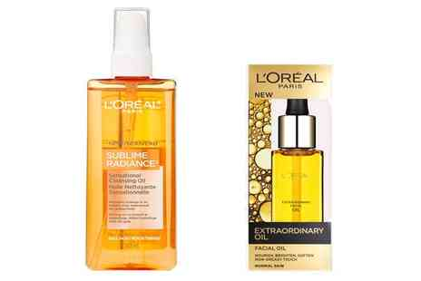 Groupon Goods Global GmbH - LOreal Extraordinary Oil and Sublime Cleanser Set - Save 64%
