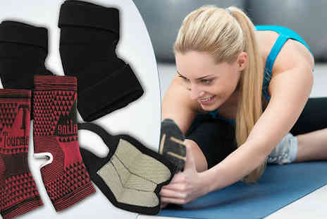 Aneeks - Infrared Magnetic Joint Support Elbow, Knee or Ankle - Save 72%